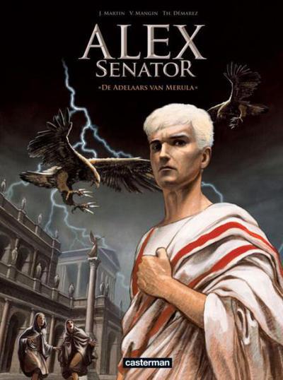 Cover for Alex Senator (Casterman, 2012 series) #1 - De adelaars van Merula