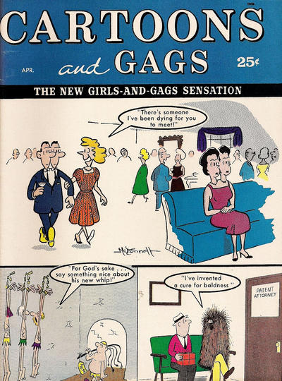 Cover for Cartoons and Gags (Marvel, 1959 series) #v7#2