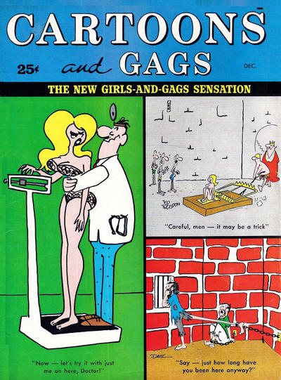 Cover for Cartoons and Gags (Marvel, 1959 series) #v8#6