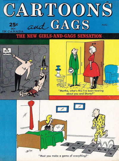 Cover for Cartoons and Gags (Marvel, 1959 series) #v9#4
