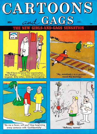 Cover for Cartoons and Gags (Marvel, 1959 series) #v9#6