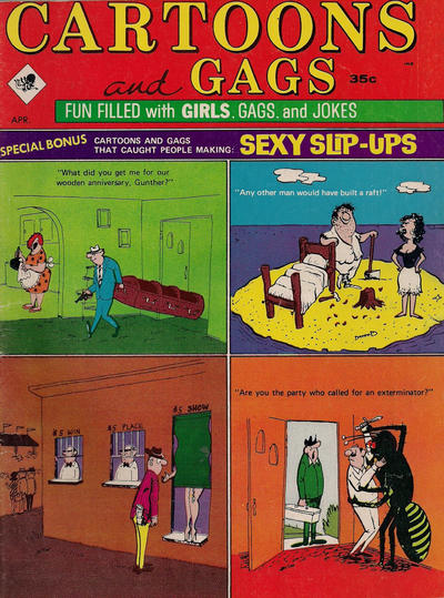 Cover for Cartoons and Gags (Marvel, 1959 series) #v12#2