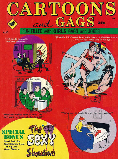 Cover for Cartoons and Gags (Marvel, 1959 series) #v16#4