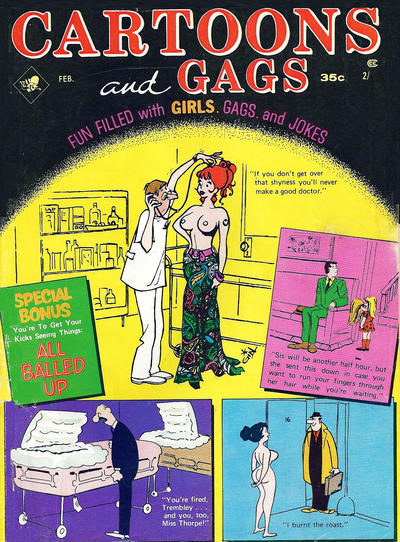 Cover for Cartoons and Gags (Marvel, 1959 series) #v17#1