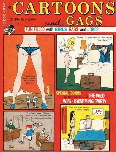 Cover for Cartoons and Gags (Marvel, 1959 series) #v17#5