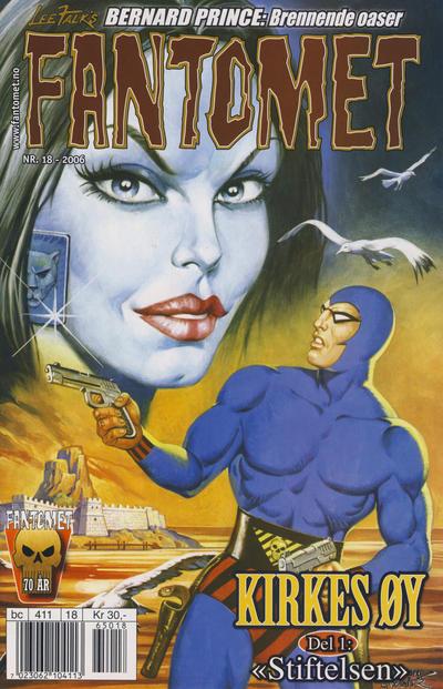 Cover for Fantomet (Hjemmet / Egmont, 1998 series) #18/2006