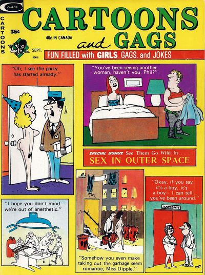 Cover for Cartoons and Gags (Marvel, 1959 series) #v19#5