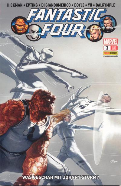 Cover for FF (Panini Deutschland, 2012 series) #3 - Was geschah mit Johnny Storm?