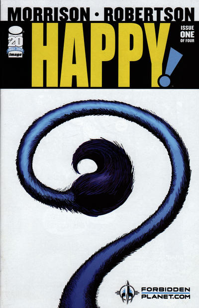 Cover for Happy! (Image, 2012 series) #1 [Forbidden Planet Variant]