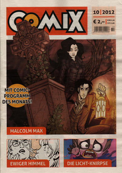 Cover for Comix (JNK, 2010 series) #10/2012
