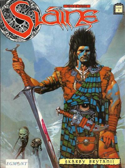 Cover for Slaine (Egmont Polska, 1999 series) #2 - Skarby Brytanii - część II