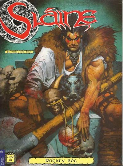 Cover for Slaine (Egmont Polska, 1999 series) #5 - Rogaty Bóg - część III