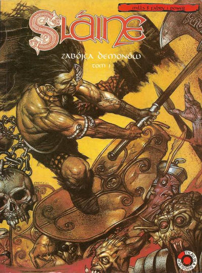 Cover for Slaine (Egmont Polska, 1999 series) #6 - Zabójca demonów - tom I