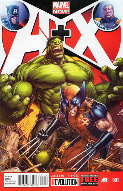 Cover for A+X (Marvel, 2012 series) #1