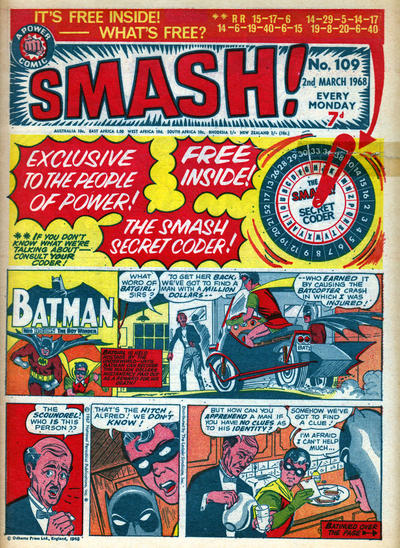 Cover for Smash! (IPC, 1966 series) #109