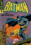 Cover for Batman Geant (Sage - Sagédition, 1972 series) #6