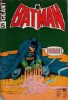 Cover for Batman Geant (Sage - Sagédition, 1972 series) #5