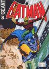 Cover for Batman Geant (Sage - Sagédition, 1972 series) #8