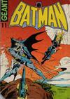 Cover for Batman Geant (Sage - Sagédition, 1972 series) #11