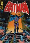 Cover for Batman Geant (Sage - Sagédition, 1972 series) #12