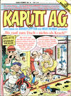 Cover for Kaputt A.G. (Condor, 1987 series) #4