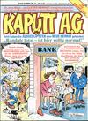 Cover for Kaputt A.G. (Condor, 1987 series) #8