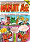 Cover for Kaputt A.G. (Condor, 1987 series) #2