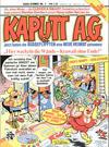 Cover for Kaputt A.G. (Condor, 1987 series) #1