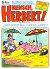 Cover for Mensch, Herbert! (Condor, 1989 series) #2