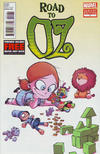 Cover for Road to Oz (Marvel, 2012 series) #1 [Skottie Young Baby Variant]
