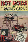 Cover for Hot Rods and Racing Cars (Charlton, 1951 series) #3