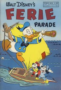 Cover Thumbnail for Walt Disney's serier (Hjemmet / Egmont, 1950 series) #6/1954