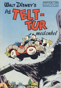 Cover Thumbnail for Walt Disney's serier (Hjemmet / Egmont, 1950 series) #7/1954