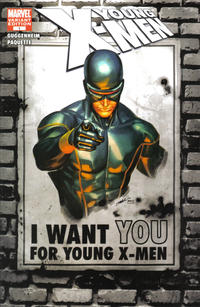 Cover Thumbnail for Young X-Men (Marvel, 2008 series) #1 [Marvel Digital Comics Variant]