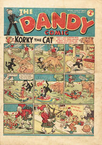 Cover Thumbnail for The Dandy Comic (D.C. Thomson, 1937 series) #142