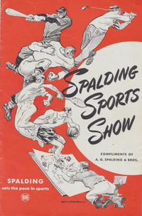 Cover for Spalding Sports Show (A.G. Spalding & Bros., 1945 series) #1945