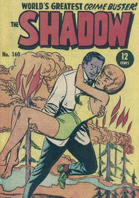 Cover Thumbnail for The Shadow (Frew Publications, 1952 series) #160