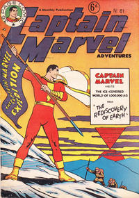 Cover Thumbnail for Captain Marvel Adventures (L. Miller & Son, 1950 series) #61