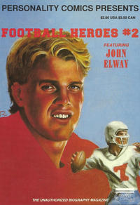 Cover Thumbnail for Football Heroes (Personality Comics, 1992 series) #2