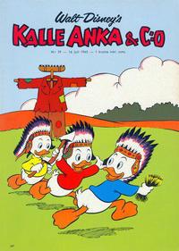 Cover Thumbnail for Kalle Anka & C:o (Hemmets Journal, 1957 series) #29/1963
