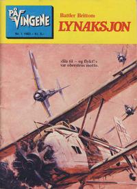 Cover Thumbnail for På Vingene (Serieforlaget / Se-Bladene / Stabenfeldt, 1963 series) #1/1983