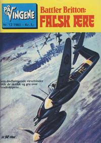 Cover Thumbnail for På Vingene (Serieforlaget / Se-Bladene / Stabenfeldt, 1963 series) #12/1983