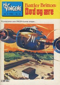 Cover Thumbnail for På Vingene (Serieforlaget / Se-Bladene / Stabenfeldt, 1963 series) #6/1984
