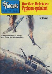 Cover Thumbnail for På Vingene (Serieforlaget / Se-Bladene / Stabenfeldt, 1963 series) #11/1985