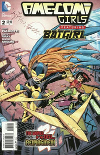 Cover Thumbnail for Ame-Comi Girls (DC, 2012 series) #2