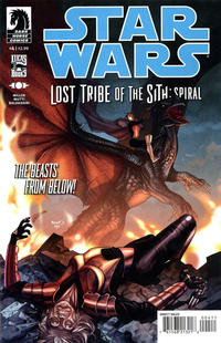 Cover Thumbnail for Star Wars: Lost Tribe of the Sith - Spiral (Dark Horse, 2012 series) #4