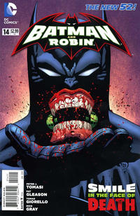 Cover Thumbnail for Batman and Robin (DC, 2011 series) #14