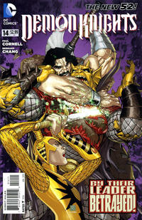 Cover Thumbnail for Demon Knights (DC, 2011 series) #14