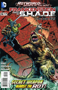 Cover for Frankenstein, Agent of S.H.A.D.E. (DC, 2011 series) #14