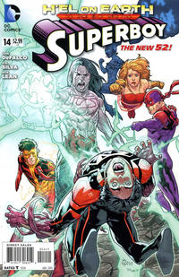 Cover Thumbnail for Superboy (DC, 2011 series) #14